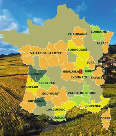 Vignobles de France